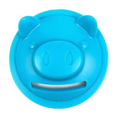 JarWare Mason Jar Piggy Bank Coin Adapter Lid Blue Pig Set Of 2