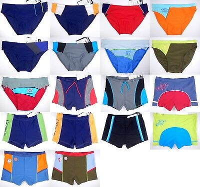 Boy Swim Brief Swimming Slip Boxer Trunks Teen Kid Baby Swimwear Swimsuit Bather