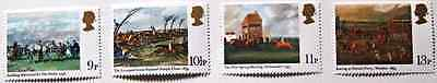 Royal Mail Paintings & bicentenary of the Derby stamps, Horse racing, 1979, MNH