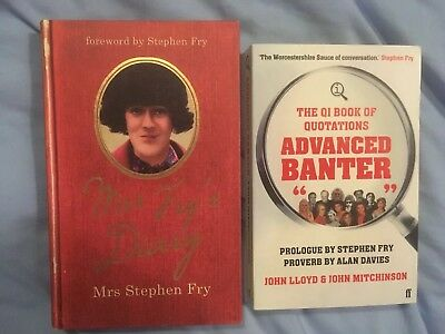 Books, Mrs Steven Fry & The QI Book Of Quotations: Advanced Banter