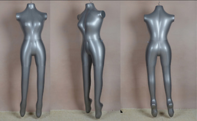 Mannequin Dummy Inflatable Full Body Ladies Legs Hanging Shop Display Female UK