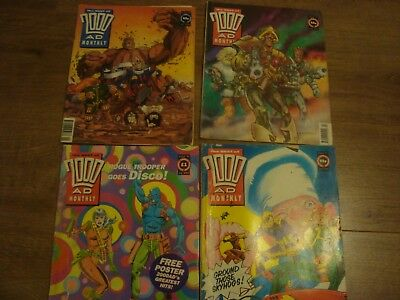 Judge Dredd comics Megazines and complete Judge Dredd 1990's 2000AD