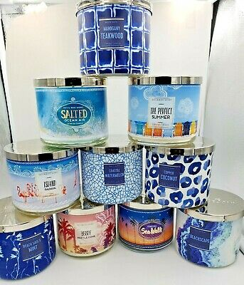 Bath & Body Works 2019 Mother's Day 3 Wick Candles! New Candles Added 14/3/19