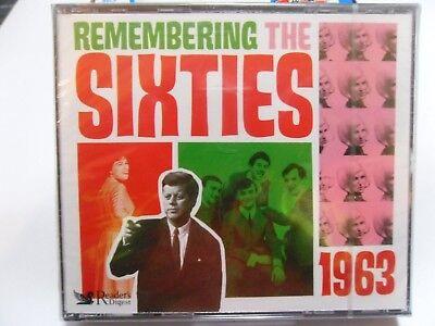 Remembering The Sixties 1963 [3 Cd Box Set] On Readers Digest Still Sealed