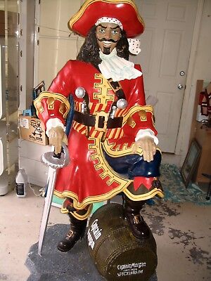 WOW! Life Size Captain Morgan Statue 7ft --- rUm sIgN gIaNt pIrAtE nEoN dIsPlAy