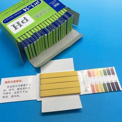 80pH 1-14 Universal Full Range Litmus Test Indicator Urine Paper Strips Tester S