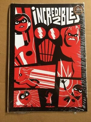 The Incredibles 2 :  A4 poster - Geek Gear Exclusive- New