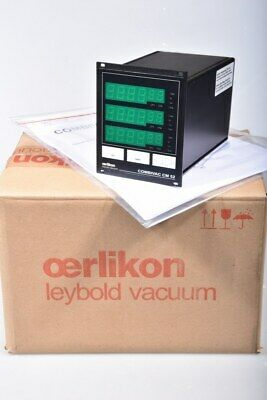 OERLIKON LEYBOLD CM52, COMBIVAC evaluation module with Display - MINT CONDITION