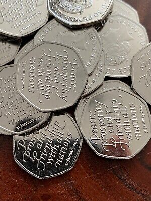 Rare 2018 Alphabet A-Z 10p Ten Pence Coin I Ice Cream From Sealed Bag