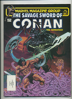 Marvel - Savage Sword of Conan the Barbarian 96 97 & 98 - F/VF! 3 Issue Lot 1984