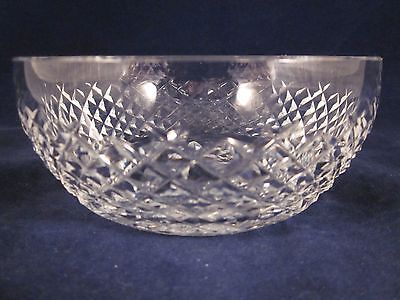 """WATERFORD CRYSTAL Bowl 5.5"""" Diamond Cut GOTHIC MARK ~ EXCELLENT"""