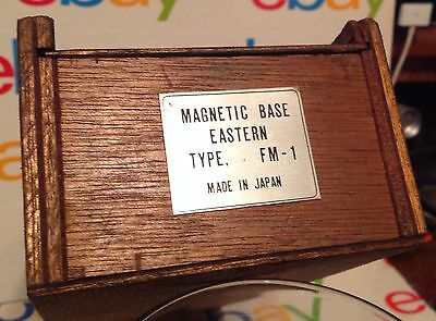 Antique Wood Electronics Storage Box made in Japan