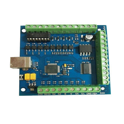 Standard  USB 4Axis Smooth Stepper Motion Control Card Breakout Board
