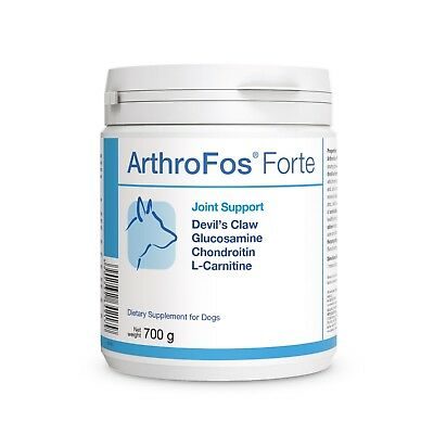 ArthroFos Forte 700g Glucosamine Chondroitin Devil's Claw L-Carnitine for Dogs