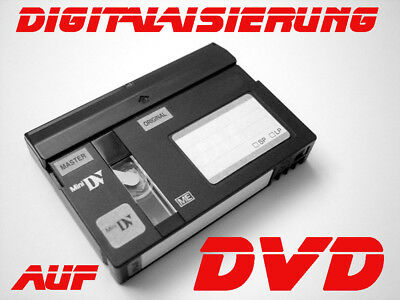 11 Video HI8,Video8, Digital8, MiniDV  digitalisieren auf DVD
