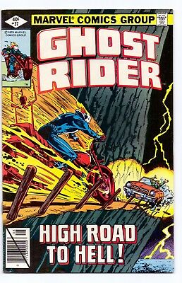 Marvel Comics: Ghost Rider #37/#52/#57/#65 - Four Issues!