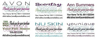 Thank You Cards 50 For Avon Scentsty Younique Ann Summers The Body