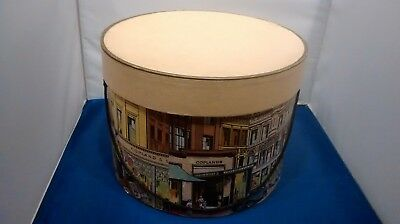 Vintage Hat Box Copland & Lye Glasgow Advertising Display Storage Retro Hatbox