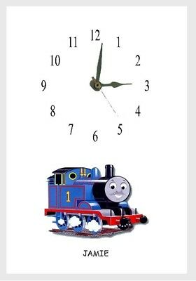 Thomas the Tank Engine Wall  Clock  Personalised Free