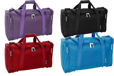 55x35x20 Cabin Holdall Duffle Bag Lightweight 0.5kg Case Carry on GYM Sports