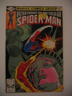 Peter Parker the Spectacular Spider-Man #42 Frightful Four Marvel FN 1980