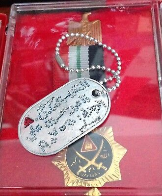 IRAQ/ Iraqi Republican Guards Custom Made Military Dog Tag (Captain)