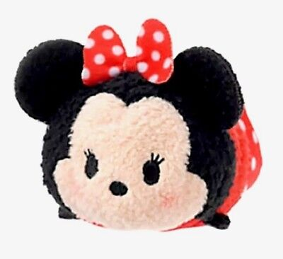 "Disney Store Tsum 3.5"" Mini Original Open Eyes Minnie Mouse Mickey & Friends Nwt"