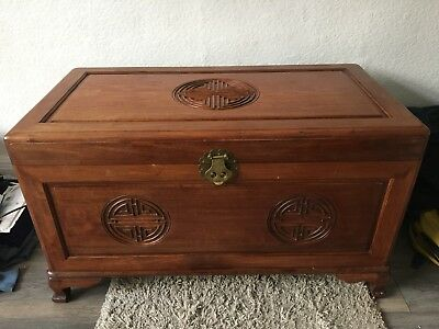 Chinese Rosewood  Blanket Chest Trunk Box