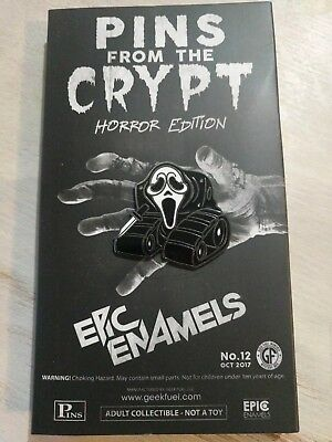 Geekfuel Pins from the Crypt The Shriek/Scream New in box