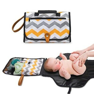 Portable Baby Diaper Changing Pad Station - Travel Diaper Organizer Bag For Mom
