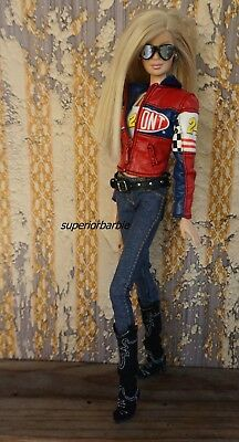 JEFF GORDON Model Muse NASCAR Outfit Cowboy Boots and Accessories