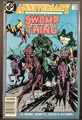 SWAMP THING #50 1ST FULL JUSTICE LEAGUE DARK ALAN MOORE DC High Grade VF/NM 9.0