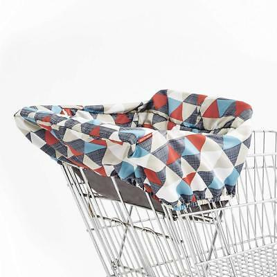 Skip Hop Shopping Cart and Baby High Chair Cover, Take Triangles **Brand New**