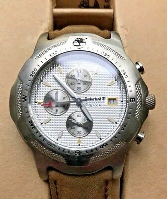 Timberland Chronograph Watch 100m New Old Stock in Box NOS NIB