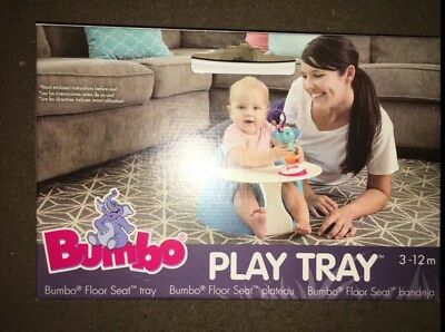 BUMBO Play Snack Tray for Bumbo Seat Chair Brand New In Box!