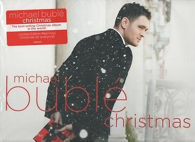 Michael Buble' Christmas Limited Edition Red Vinyl LP
