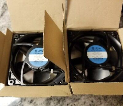 2 Pamotor System Fan  Papst 4600 XP 115v. New in box new old stock