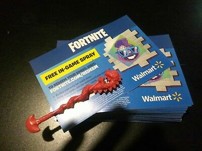 Fortnite Epic Walmart In Game Code Exclusive Spray sent by message