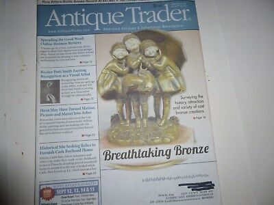 Antique Trader Magazine - Sept. 4, 2013 - Bronze Creations
