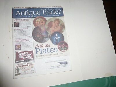 Antique Trader Magazine - March 6, 2013 - Collector Plates