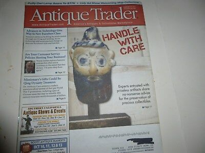 Antique Trader Magazine - Sept. 18, 2013 - Preserving Antiques; Old Maps