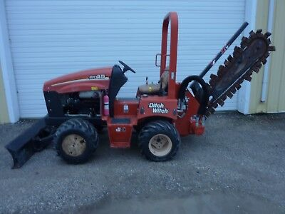 2014 Ditch Witch RT45 Trencher 415 Hours