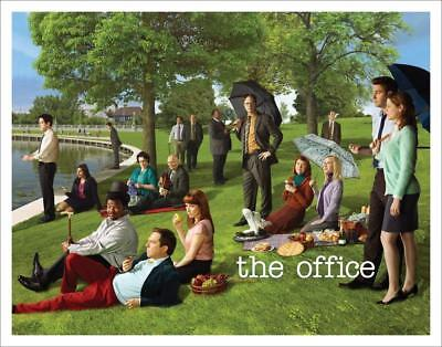 The Office Georges Seurat Painting (Dunder Mifflin) Cast Group Workplace...
