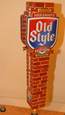 """Old Style """"Chicago Cubs Brick Wall"""" Beer Tap Handle - NIB"""