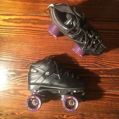 Rock Skates GT-50 Sure Grip WheelQuad Roller Skates Womens Size 7 GREAT!