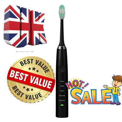 Oral Nursing Vitality Sensitive Clean Rechargeable Electric Power Toothbrush New
