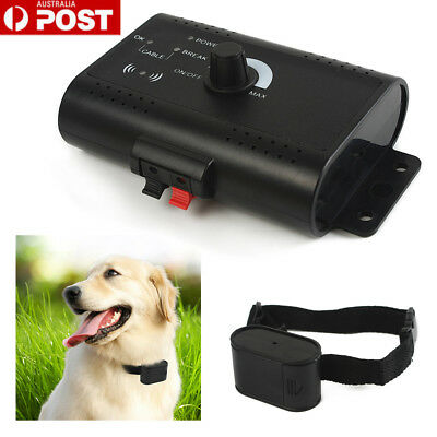 Waterproof Dog Hidden Fence Fencing System In-ground Electric Collar Receiver AU