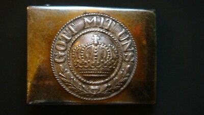Antique German WWI Imperial Army Belt Buckle