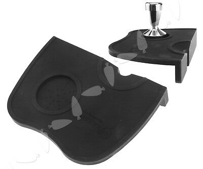 New Coffee Tamper Mat Tamping Rest Espresso Rubber Tamping Mat