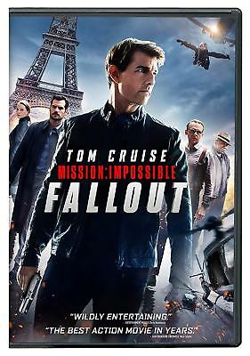 Mission: Impossible Fallout (2018, Dvd) Mi6 Brand New Sealed! Free Shipping!